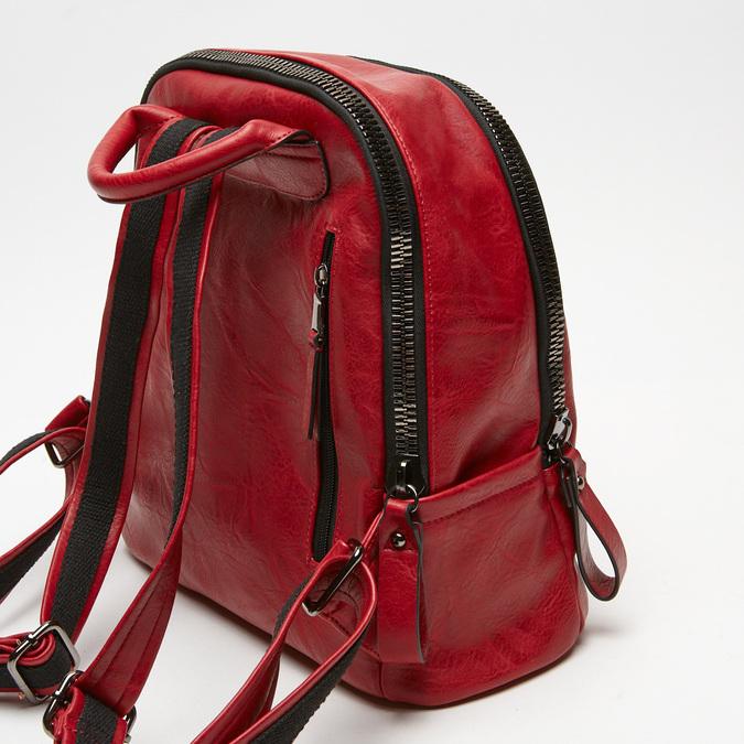 sac à dos à double fermeture éclair bata, Rouge, 961-5334 - 15