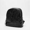 sac à dos à double fermeture éclair bata, Noir, 961-6334 - 26