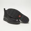 bottines chelsea à piqué brogue flexible, Noir, 894-6138 - 19