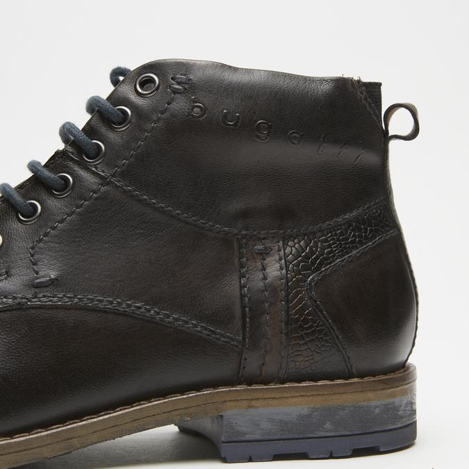 bottines en cuir homme bugatti, Gris, 894-2359 - 15