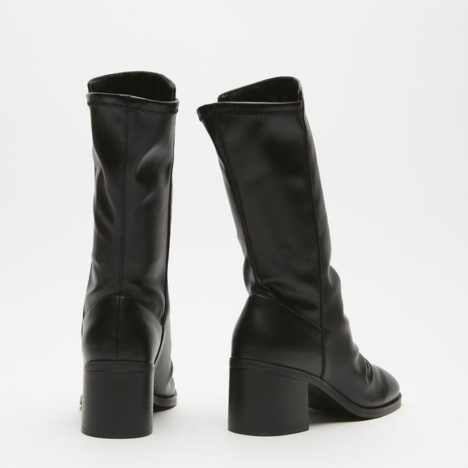 bottes à talons larges bata, Noir, 791-6820 - 17