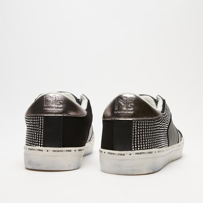 baskets à clous north-star, Noir, 541-6116 - 17