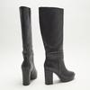 bottes en-dessous du genou à talons larges bata, Noir, 791-6257 - 17