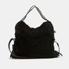 sac hobo à fourrure bata, Noir, 969-6197 - 13