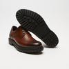 chaussures basses brogue en cuir bata, Brun, 824-3210 - 19