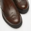 bottines en cuir à surpiqûre visible bata, Brun, 594-4832 - 15